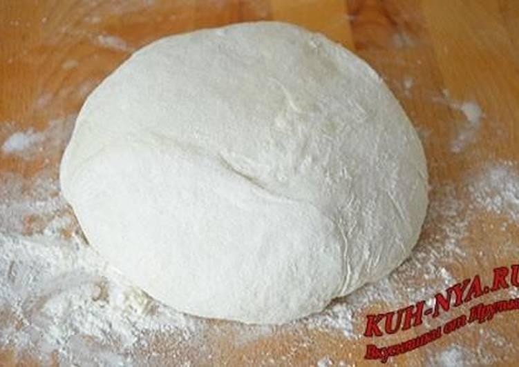 Тесто «Воздушное» для жареных пирожков, беляшей ...