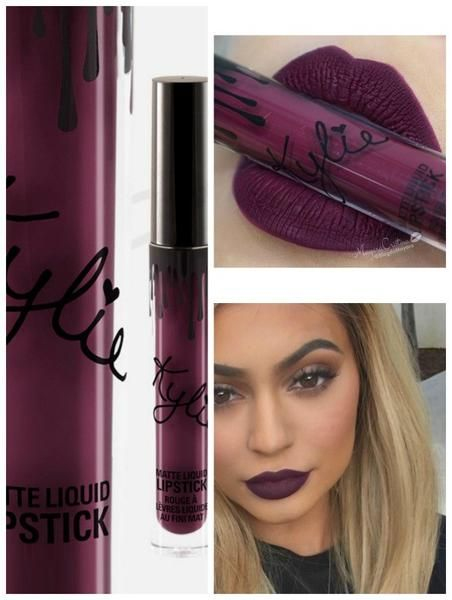 Kylie Lip Kit By Kylie Jenner Review Swatches: Kylie Jenner Kourt K Matte Liquid Lipstick