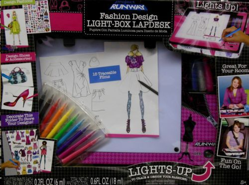 Project Runway Fashion Design Light Box Lapdesk New In Box Ebay Project Runway Design Fashion Design
