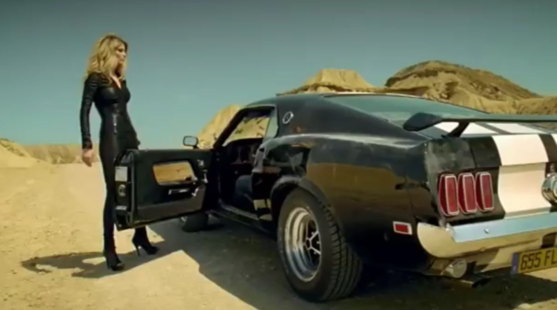 Mustang 1969 Music Video Martin Solveig I Want You Mustang