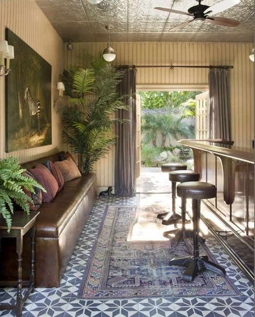 Betterdecoratingbible: Turn Your Shack Into A Mini Backyard Bar