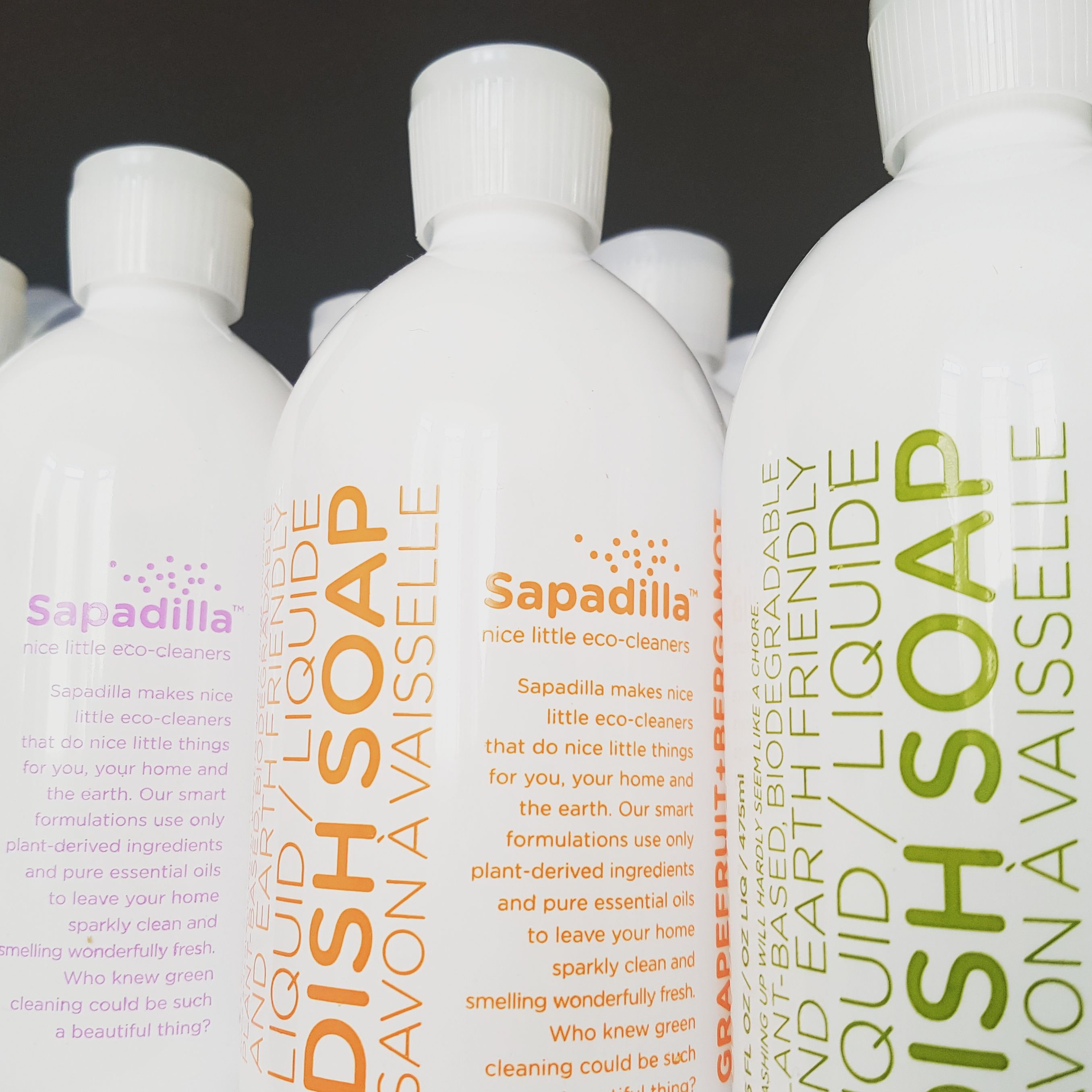 These incredible ecodish soaps from Sapadilla are made