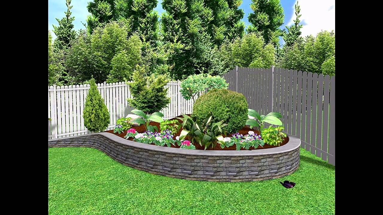 Some space saving small garden landscaping ideas Small garden