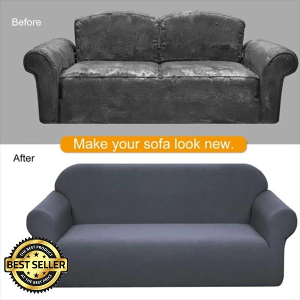 Universal Sofa Cushion Elastic Sofa Cover Lazy Sofa Cover #decorationequipment