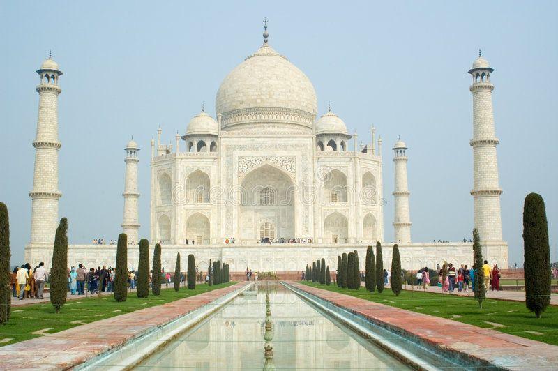 Taj Mahal Agra India Scenic View Of Taj Mahal Viewed From Front Agra India Spon Agra India Taj Mahal Viewed Ad Taj Mahal Agra India Agra
