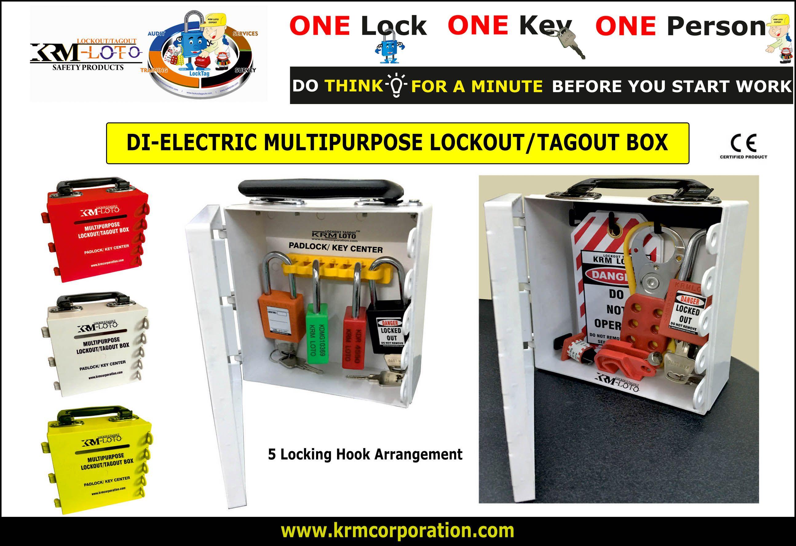 Manufacturer & Supplier of Lockout Tagout & Safety