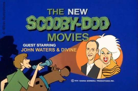 "The New Scooby-Doo Movies ""Guest-Starring John Waters And Divine"""