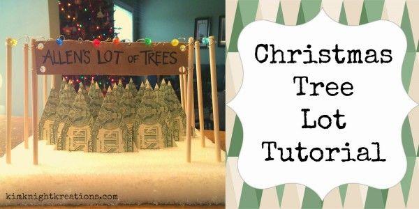 Christmas Tree Lot Near Me.How To Make A Money Christmas Tree Lot Craft Ideas