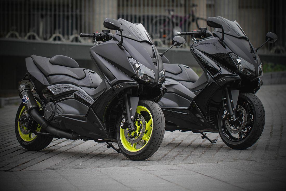 Bcd Design Tmax 530 By Rmp Moto Bcd Design In 2020 Yamaha Scooter Motorcross Bike Retro Bike