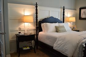 Modern Maizy: Board & Batten DIY - Master Bedroom