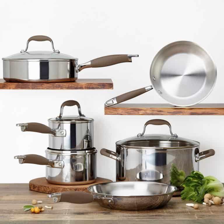 Anolon advanced tri ply 10piece cookware set review