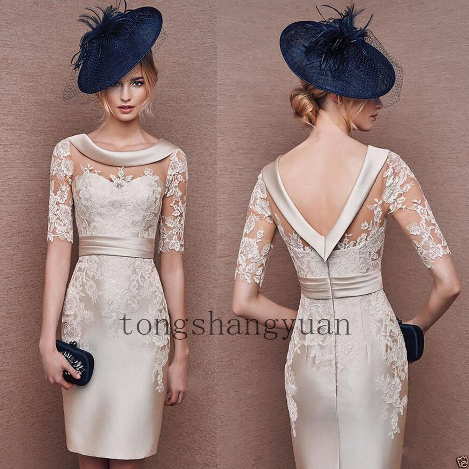 1c48f0d7df4 Mother Of The Bride Dresses With Jackets Knee Length Ebay - Gomes ...