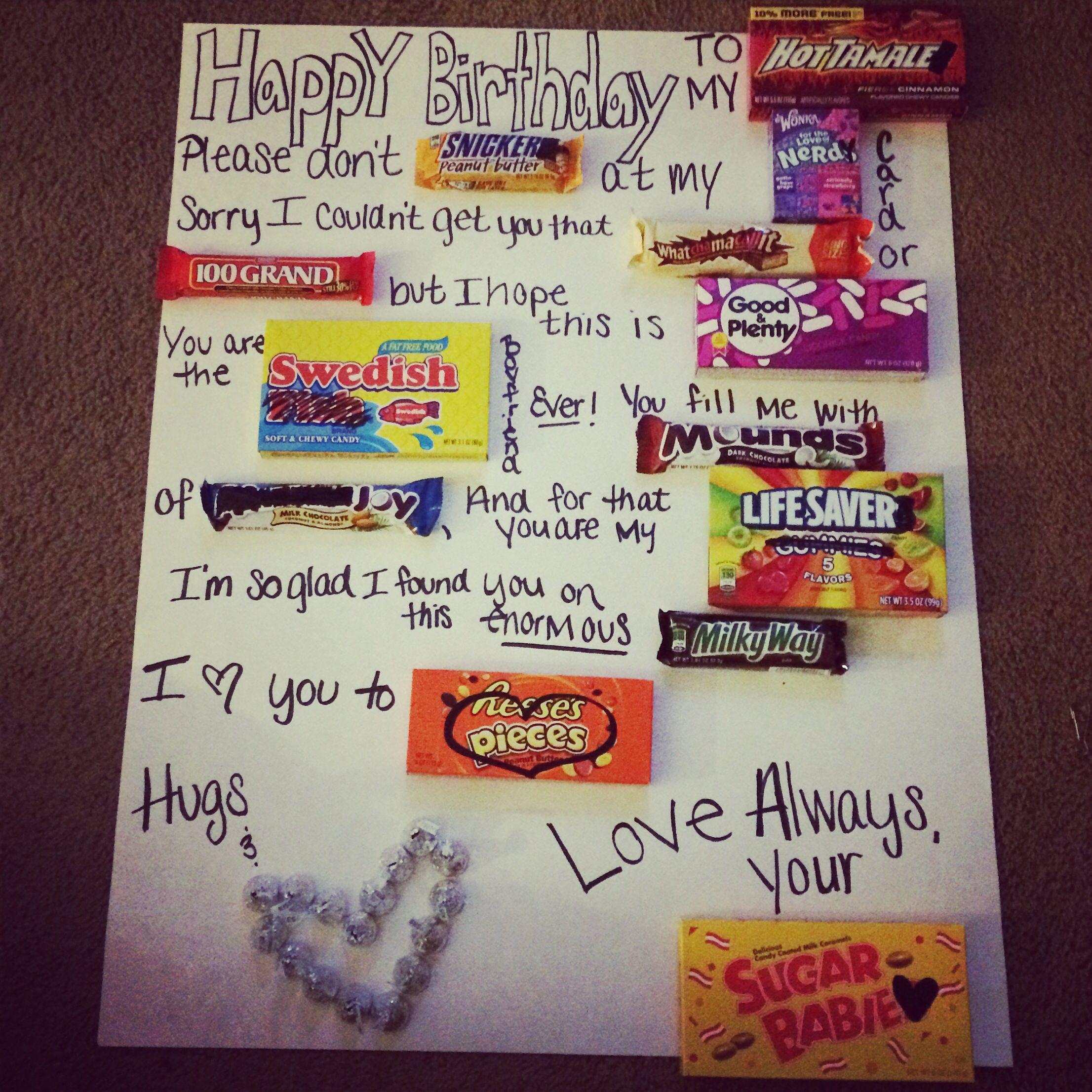 Happy Birthday Posters For Boyfriend
