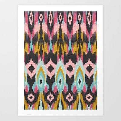 Bohemian Tribal Art Print by Bohemian Gypsy Jane - $14.48