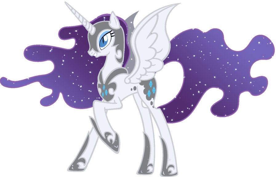 My Little Pony Coloring Pages Twilight Sparkle And Friends : Nightmare rarity my little pony madness pinterest rarity pony