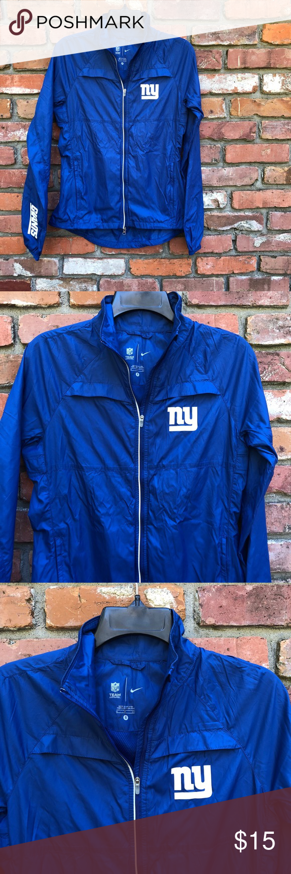 premium selection 1495b e9e06 Nike NY Giants rain jacket Nike New York Giants Rain jacket ...
