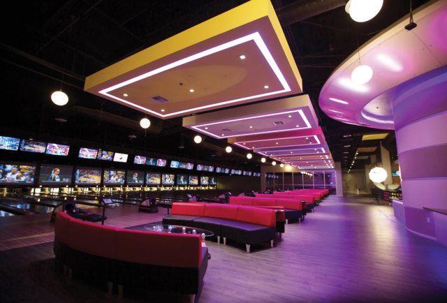 The 10 Swankiest Tastiest Booziest Bowling Alleys In America Bowling Alley Home Bowling Alley Bowling