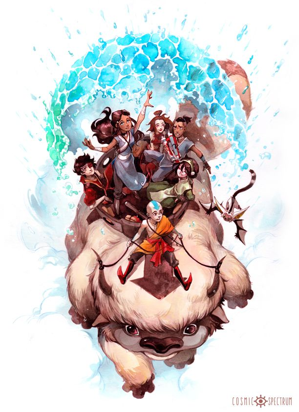 Art Print: Avatar: the Last Airbender