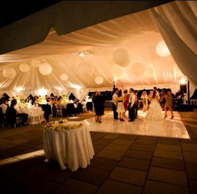 Tent Setup At Water Works Restaurant And Lounge Image Courtesy Of Laura Novak Photography