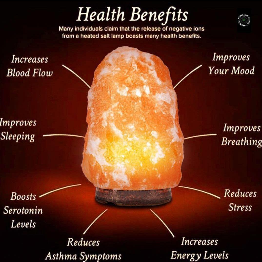 Pin By Katherine Poff On Health Himalayan Salt Lamp Benefits