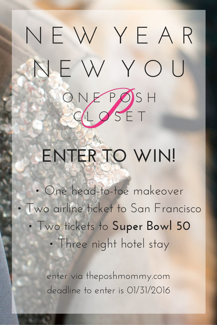 New Year, New You Contest Brought To You By One Posh Closet. Win A