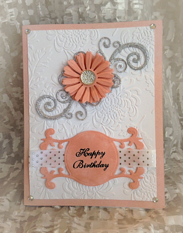 Birthday card fancy happy birthday card filigree floral birthday card fancy happy birthday card filigree floral greeting card luxury greeting kristyandbryce Images