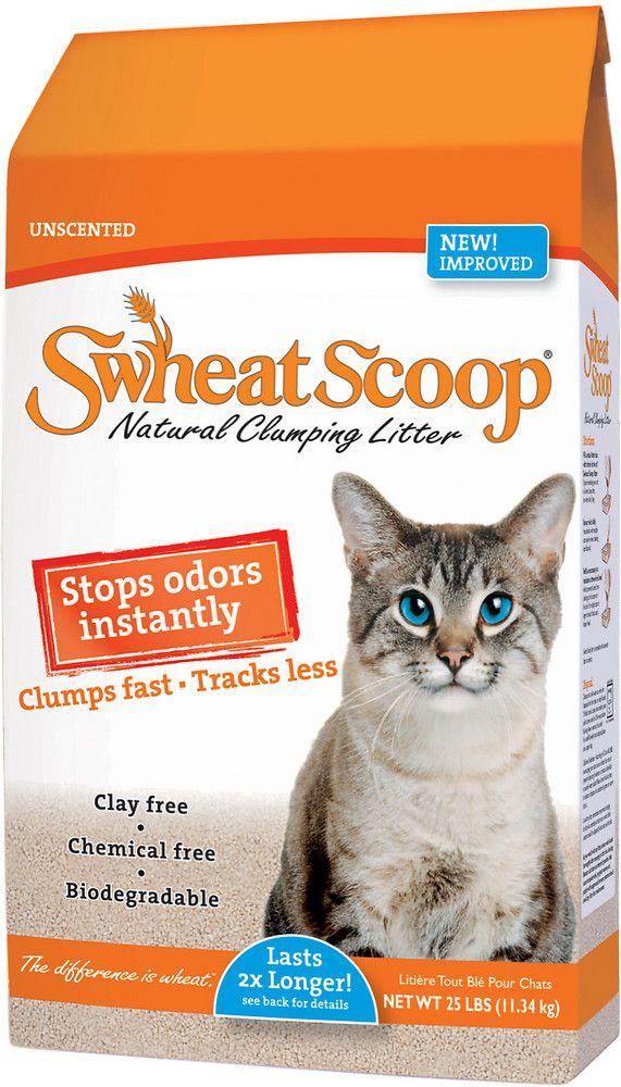 Swheat Scoop Original Natural Clumping Wheat Cat Litter