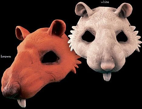 Rat Half Mask & WANT!! Rat Half Mask | Halloween Costumes | Pinterest | Half mask