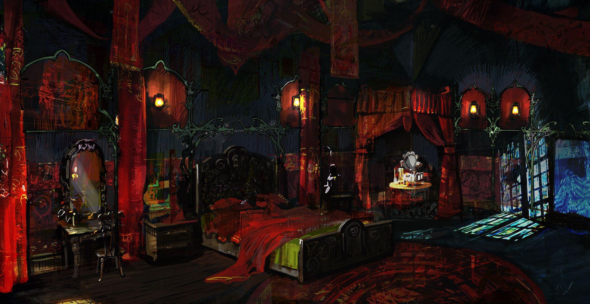 The Witcher artwork Fantasy landscape, Fantasy art