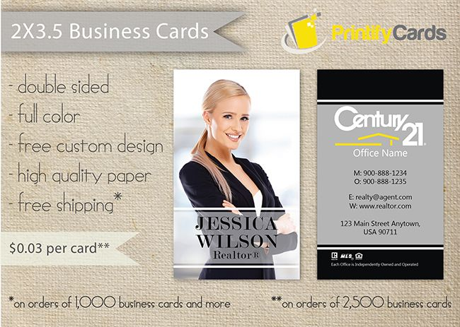 Realtor vertical business cards for century 21 real estate agents realtor vertical business cards for century 21 real estate agents printifycards printifycards reheart Image collections