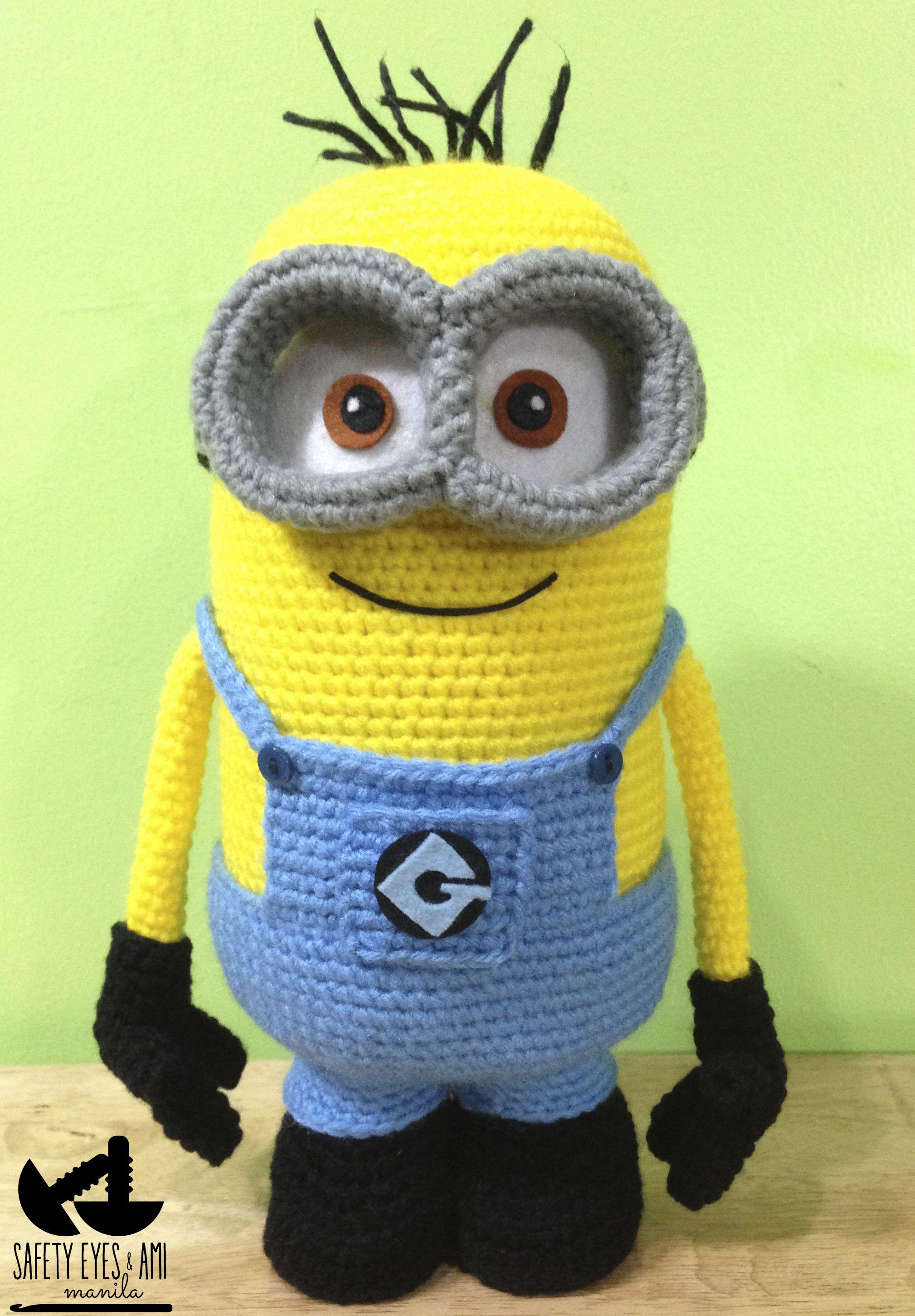 Despicable Me Crochet Minion | Crochet toys | Pinterest | Häkeln ...