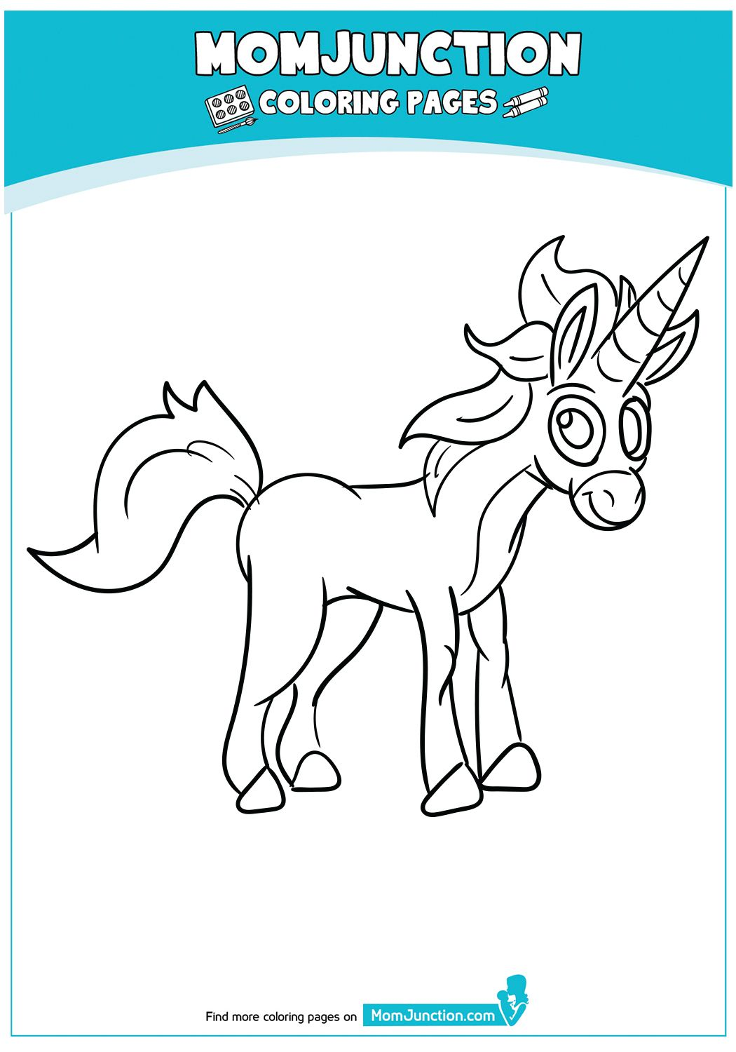 Beautiful Unicorn Head Coloring Page Unicorn Coloring Pages Coloring Pages Kids Christmas Coloring Pages