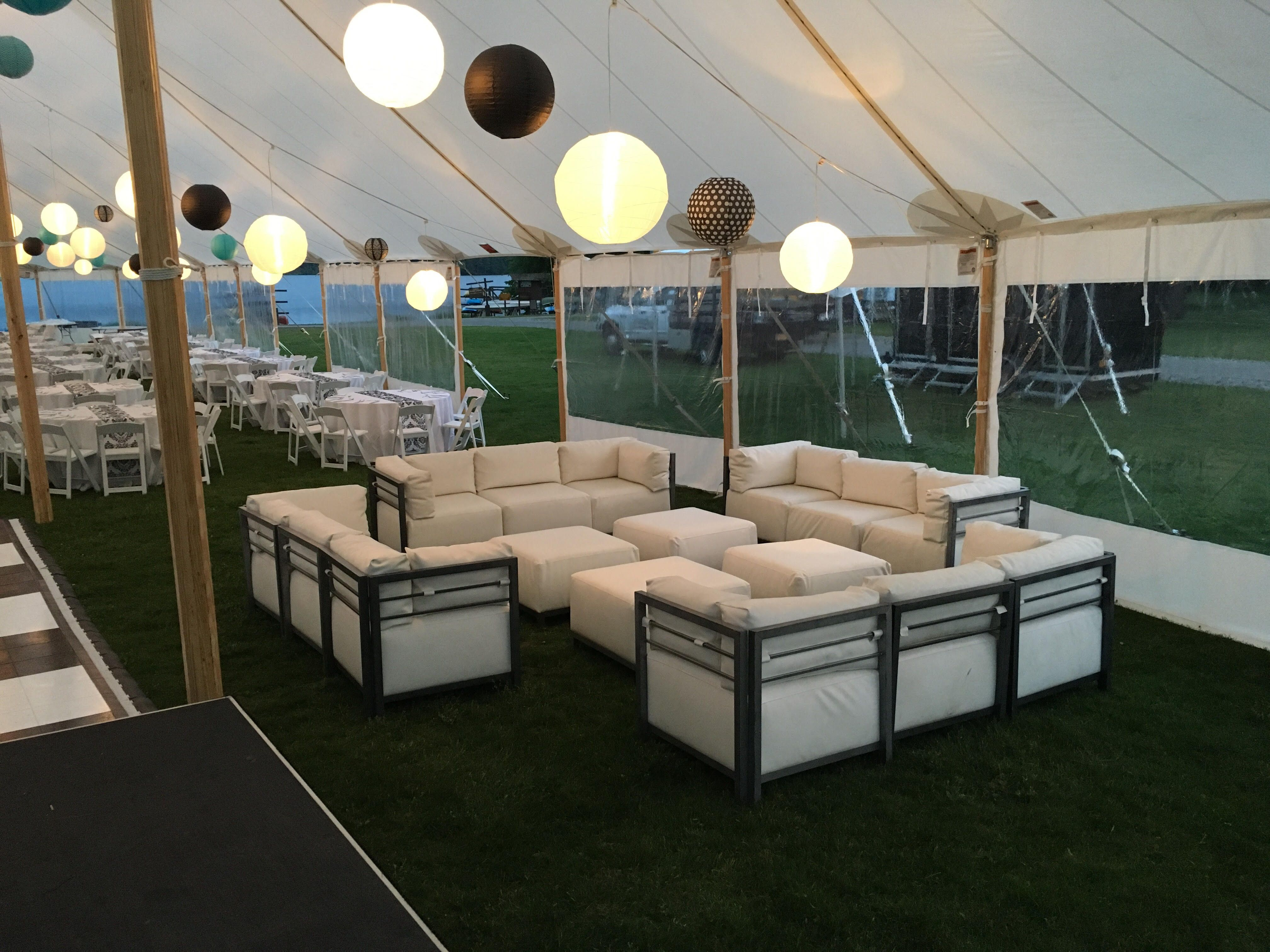 A Lounge Setting Of Our Axis Furniture By Taylor Rentals / Party Plus In  Plattsburg,
