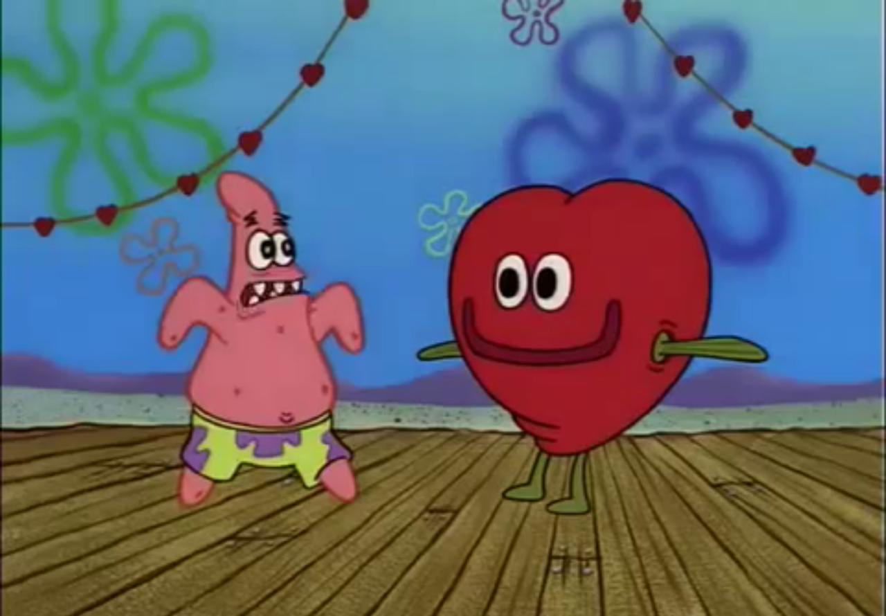 Spongebob Valentines Day Episode Funny Cartoon Memes Funny Spongebob Memes Spongebob Painting