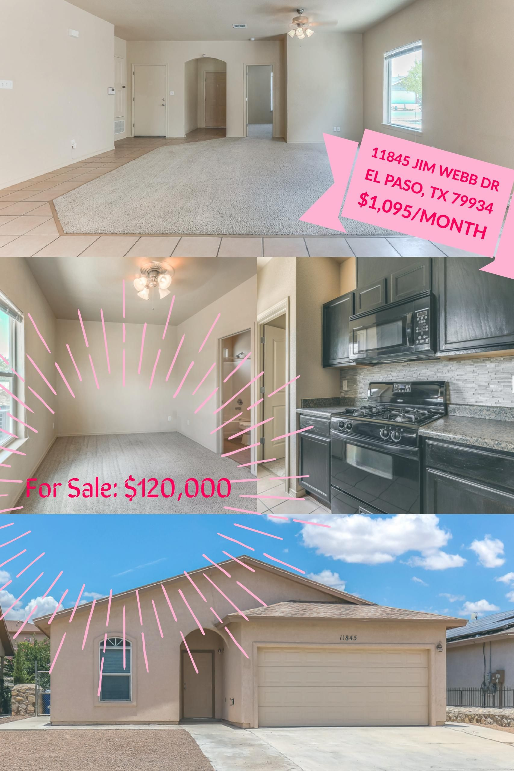 Home Is Available With 3 Options For Rent Lease W Option To Purchase And For Sale You Choose Onerealtyelpaso Elpaso Elpa Home Buying Bachelor Pad Home