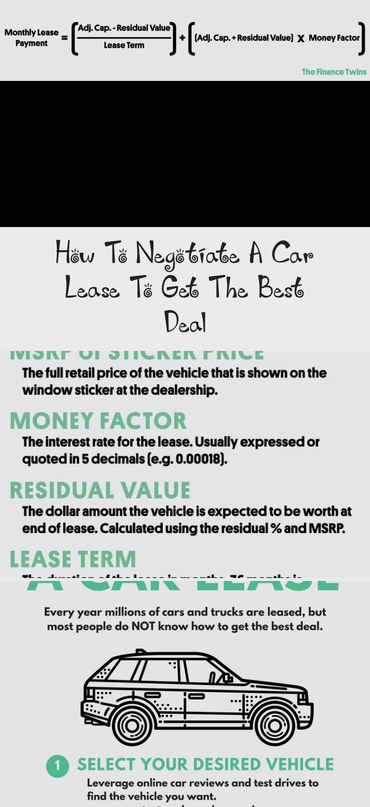 Buying Or Leasing A Car Should Be Fun And Exciting But In Reality It S A Huge Headache What Is A Fair Price How Do I Negotiate A Car Lease Negotiation Lease