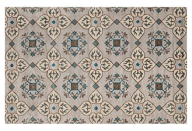 Best Milton Rug Gray Multi On Onekingslane Com With Images 400 x 300