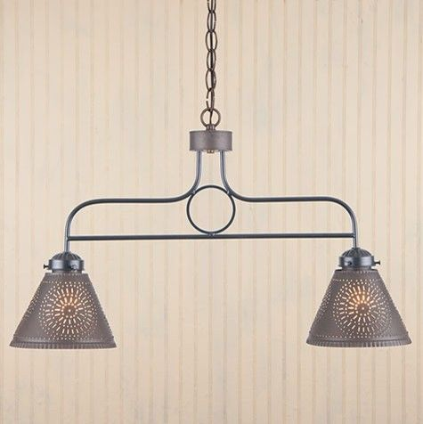 Medium image of 2 arm kitchen island pendant light in black   traditional   pendant lighting   everything