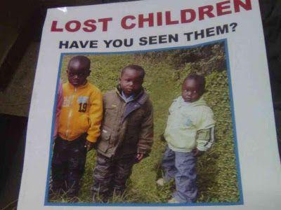 Welcome to Emmanuel Donkor's Blog  www.Donkorsblog.com: Photo: Three missing sons of a Kenyan politician f...