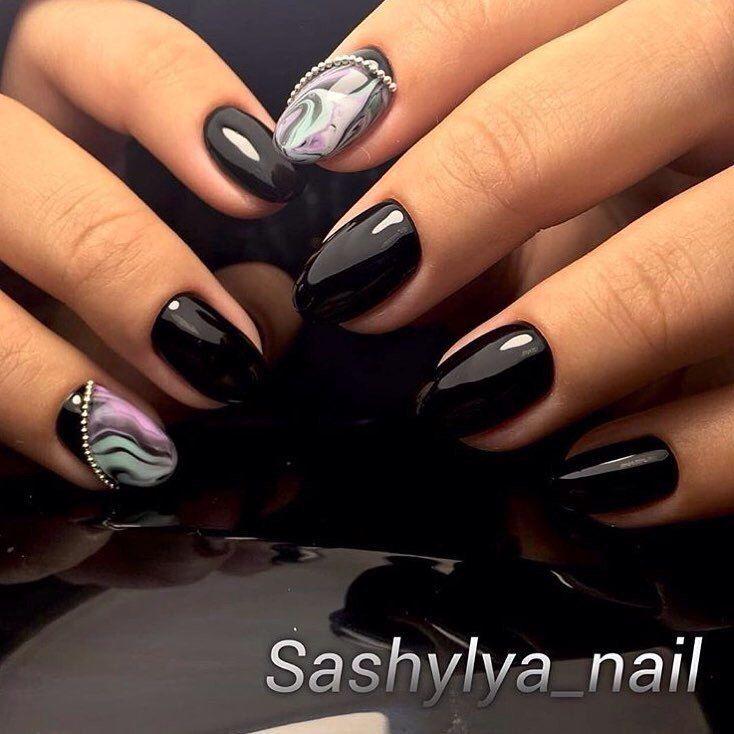 Nail Art #2581 - Best Nail Art Designs Gallery | Oval nails, Caviar ...