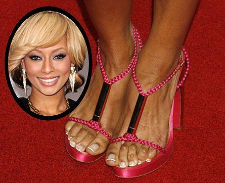 veiny weibliche Füße