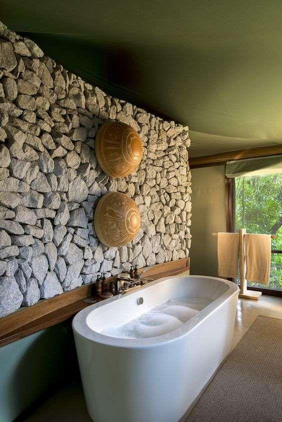 Arredare il bagno in stile etnico - Bagno in stile afro chic ...