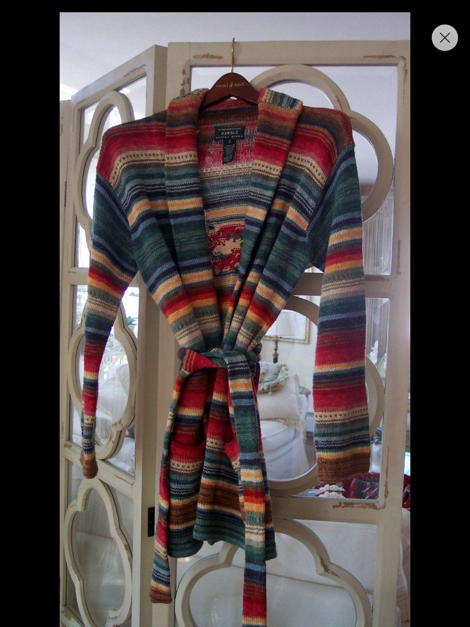 R Lauren long sweater :)