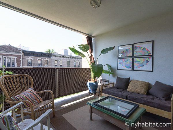 What better way to enjoy New York City than from your own private terrace! http://www.nyhabitat.com/new-york-apartment/furnished/16545