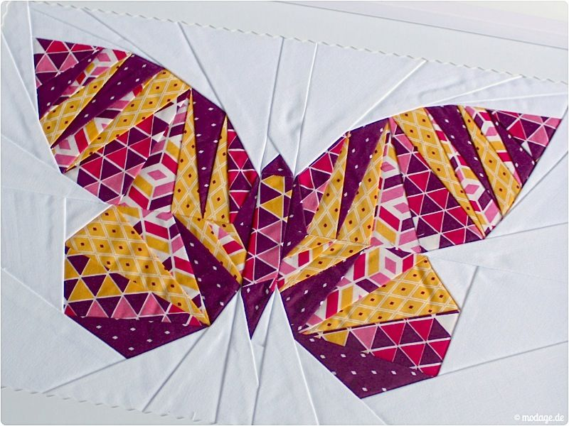 patchwork schmetterling take wing mini paper piecing. Black Bedroom Furniture Sets. Home Design Ideas