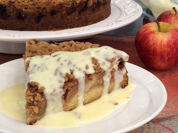 Torta de Maçã | Doces e Sobremesas | Mais Você | Receitas.com