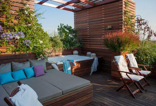 15 terrazas en la azotea que te servirán de inspiración