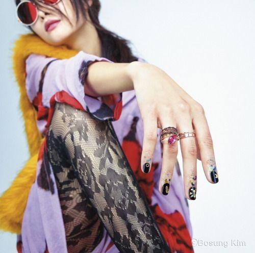 koreanmodel: Lee Ji Min Kwak Ji Young by Kim Bo Sung for...