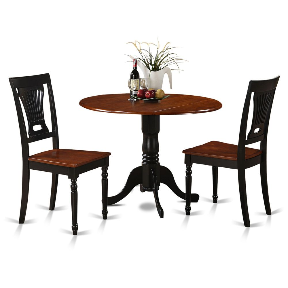 3 Piece Small Kitchen Table And Chairs Setround Table And Mesmerizing 3 Piece Kitchen Table Set Inspiration Design