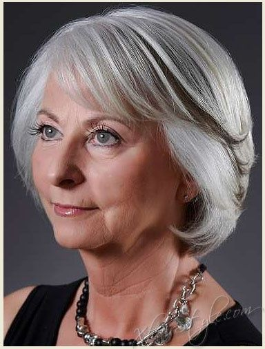 women over 70 hairstyles | Stylish haircuts for women over 50 ...